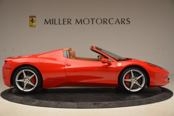 Used 2012 Ferrari 458 Spider for sale Sold at Bugatti of Greenwich in Greenwich CT 06830 9