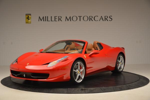 Used 2012 Ferrari 458 Spider for sale Sold at Bugatti of Greenwich in Greenwich CT 06830 1
