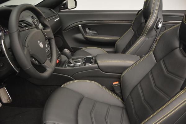 New 2017 Maserati GranTurismo Convertible Sport for sale Sold at Bugatti of Greenwich in Greenwich CT 06830 22