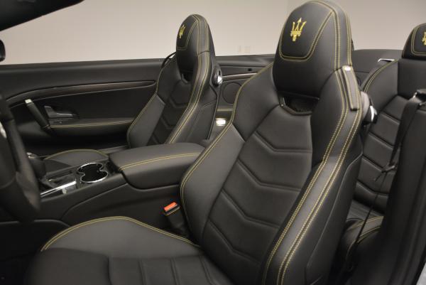 New 2017 Maserati GranTurismo Convertible Sport for sale Sold at Bugatti of Greenwich in Greenwich CT 06830 23