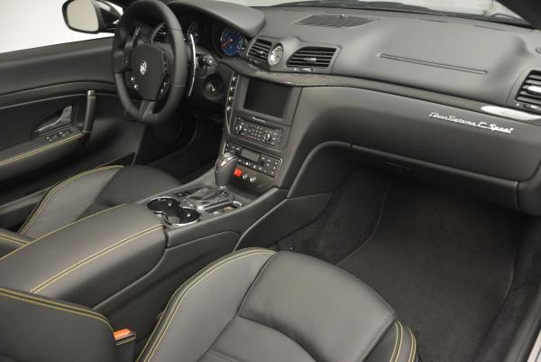 New 2017 Maserati GranTurismo Convertible Sport for sale Sold at Bugatti of Greenwich in Greenwich CT 06830 25