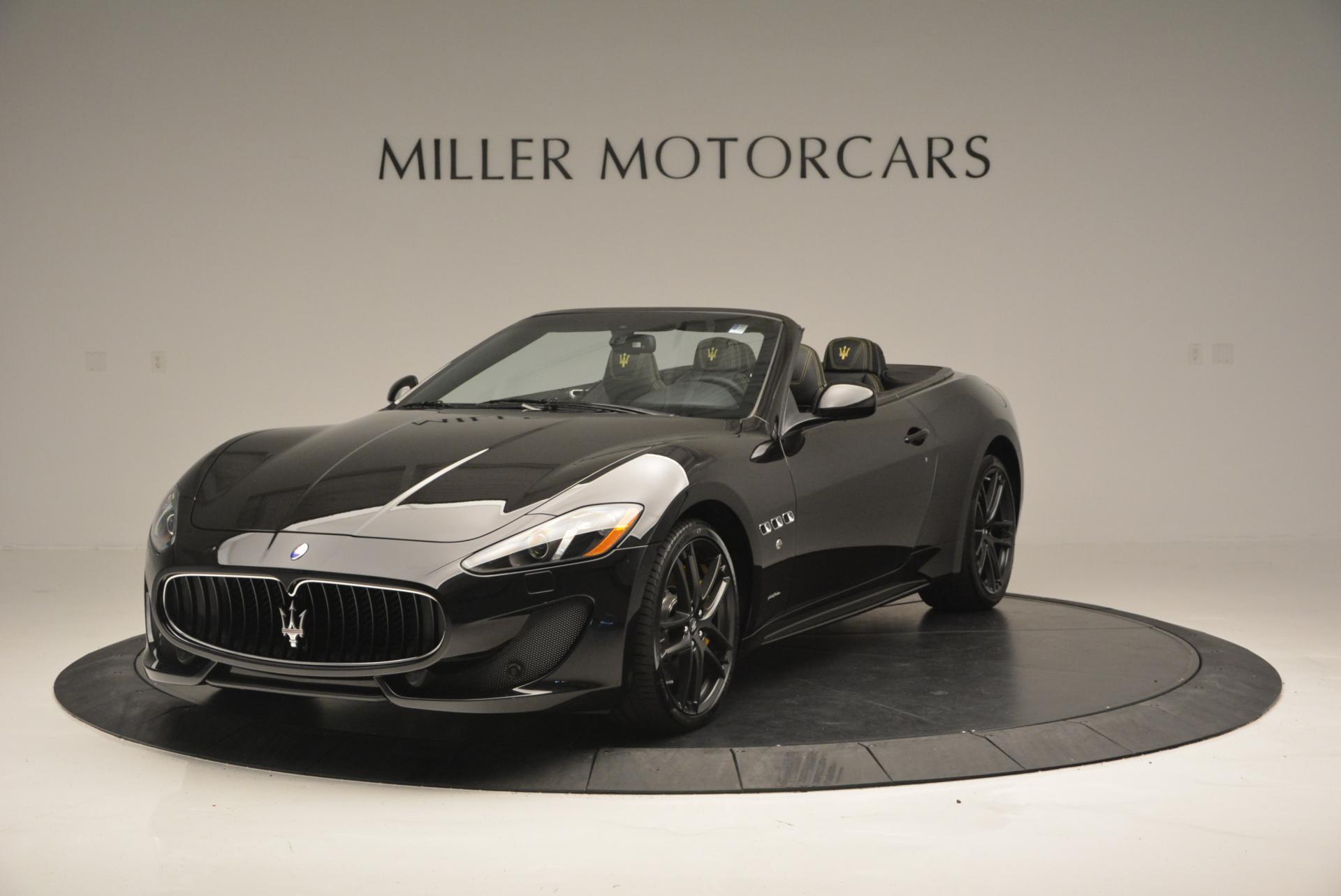 New 2017 Maserati GranTurismo Convertible Sport for sale Sold at Bugatti of Greenwich in Greenwich CT 06830 1