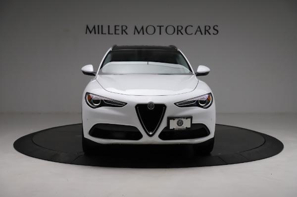 Used 2018 Alfa Romeo Stelvio Q4 for sale Sold at Bugatti of Greenwich in Greenwich CT 06830 13