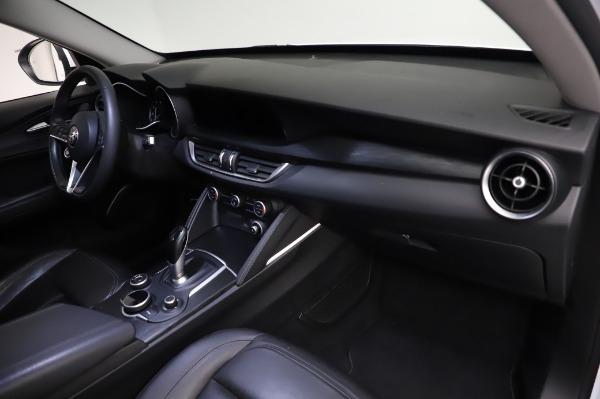 Used 2018 Alfa Romeo Stelvio Q4 for sale Sold at Bugatti of Greenwich in Greenwich CT 06830 22