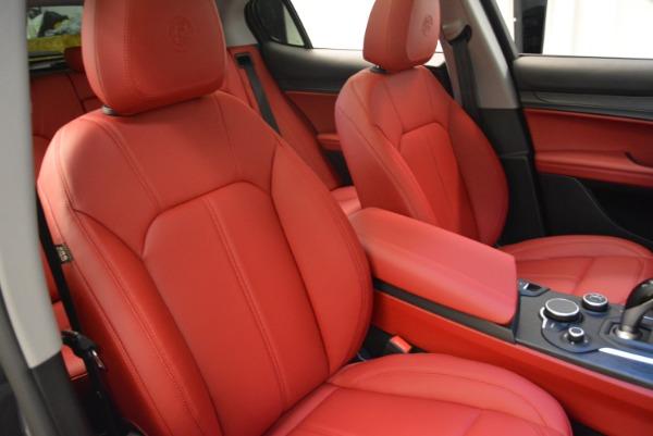 New 2018 Alfa Romeo Stelvio Q4 for sale Sold at Bugatti of Greenwich in Greenwich CT 06830 18