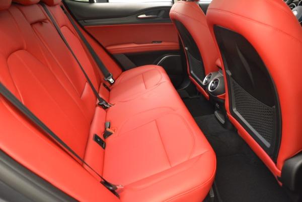 New 2018 Alfa Romeo Stelvio Q4 for sale Sold at Bugatti of Greenwich in Greenwich CT 06830 20