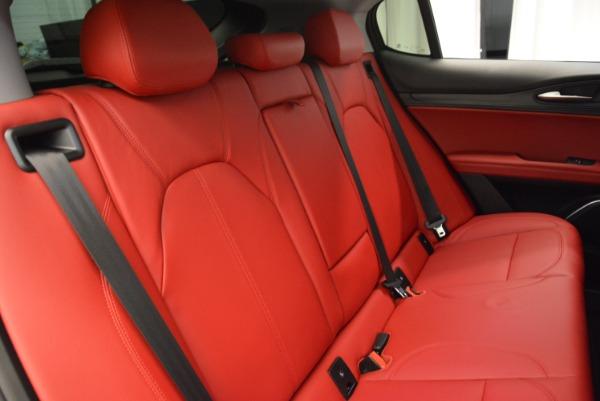 New 2018 Alfa Romeo Stelvio Q4 for sale Sold at Bugatti of Greenwich in Greenwich CT 06830 21
