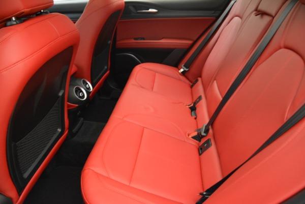 New 2018 Alfa Romeo Stelvio Q4 for sale Sold at Bugatti of Greenwich in Greenwich CT 06830 23