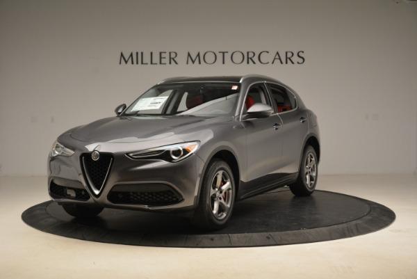 New 2018 Alfa Romeo Stelvio Q4 for sale Sold at Bugatti of Greenwich in Greenwich CT 06830 1