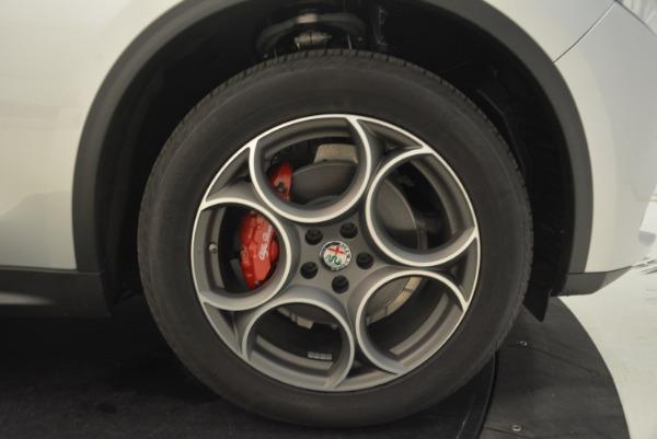 New 2018 Alfa Romeo Stelvio Ti Q4 for sale Sold at Bugatti of Greenwich in Greenwich CT 06830 25