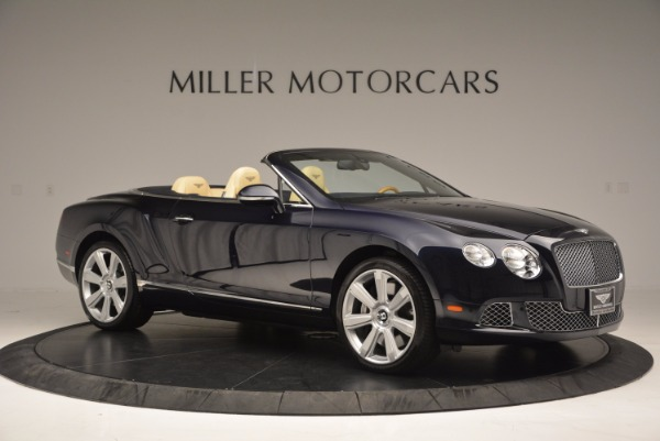 Used 2012 Bentley Continental GTC for sale Sold at Bugatti of Greenwich in Greenwich CT 06830 10