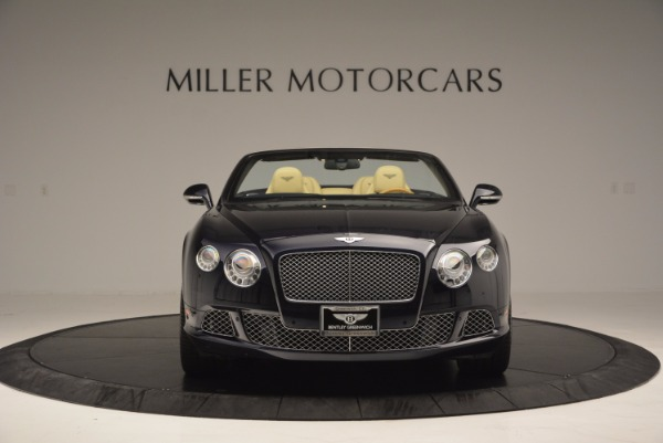 Used 2012 Bentley Continental GTC for sale Sold at Bugatti of Greenwich in Greenwich CT 06830 12