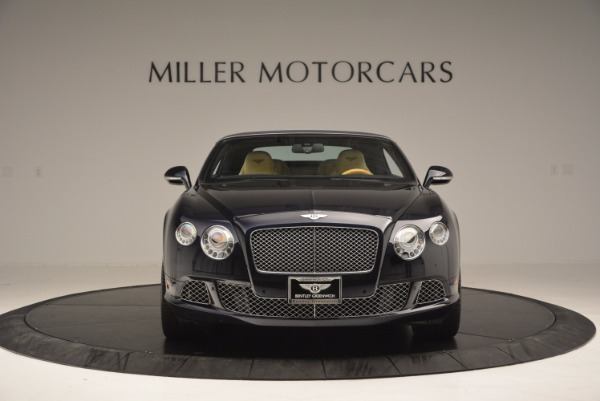 Used 2012 Bentley Continental GTC for sale Sold at Bugatti of Greenwich in Greenwich CT 06830 13