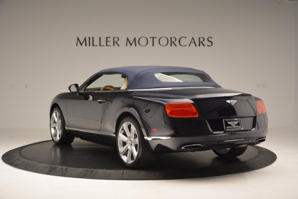 Used 2012 Bentley Continental GTC for sale Sold at Bugatti of Greenwich in Greenwich CT 06830 18