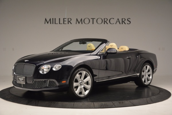 Used 2012 Bentley Continental GTC for sale Sold at Bugatti of Greenwich in Greenwich CT 06830 2