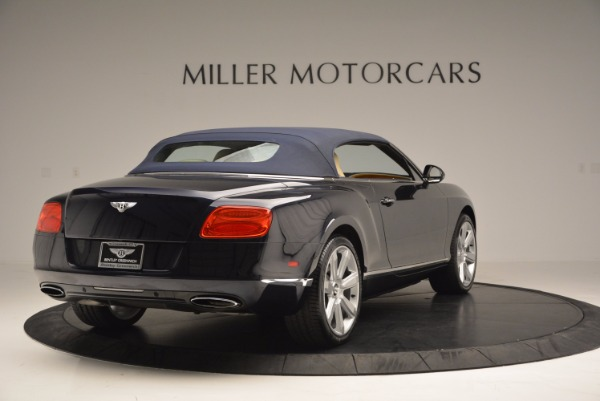 Used 2012 Bentley Continental GTC for sale Sold at Bugatti of Greenwich in Greenwich CT 06830 20