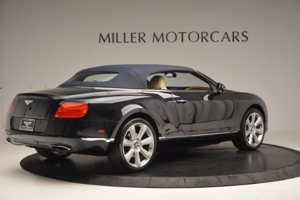Used 2012 Bentley Continental GTC for sale Sold at Bugatti of Greenwich in Greenwich CT 06830 21