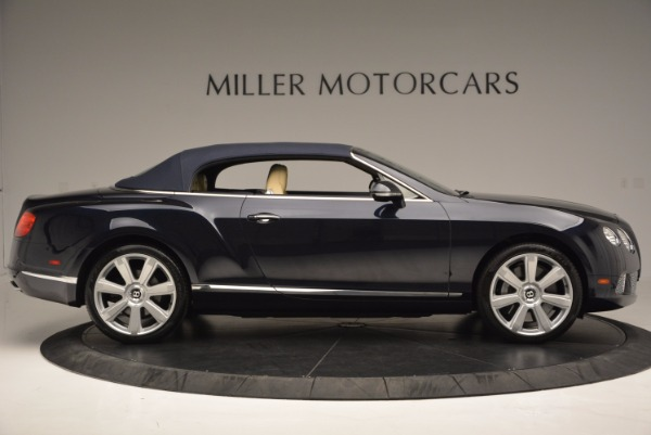 Used 2012 Bentley Continental GTC for sale Sold at Bugatti of Greenwich in Greenwich CT 06830 22