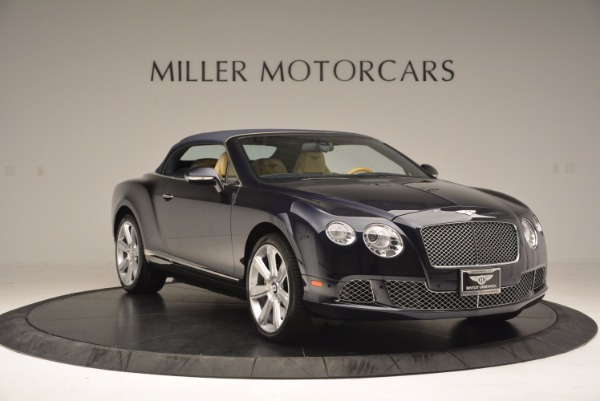 Used 2012 Bentley Continental GTC for sale Sold at Bugatti of Greenwich in Greenwich CT 06830 24