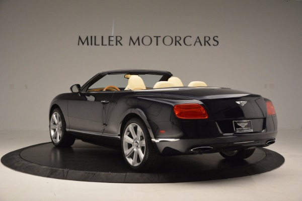 Used 2012 Bentley Continental GTC for sale Sold at Bugatti of Greenwich in Greenwich CT 06830 5