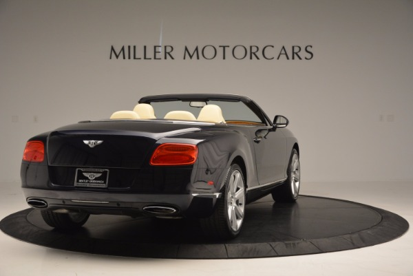 Used 2012 Bentley Continental GTC for sale Sold at Bugatti of Greenwich in Greenwich CT 06830 7