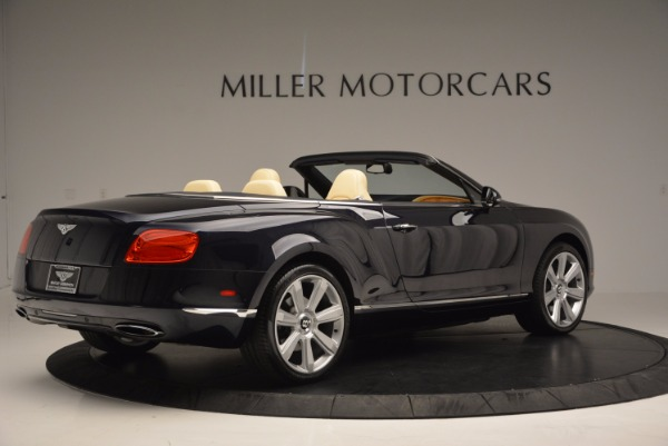 Used 2012 Bentley Continental GTC for sale Sold at Bugatti of Greenwich in Greenwich CT 06830 8