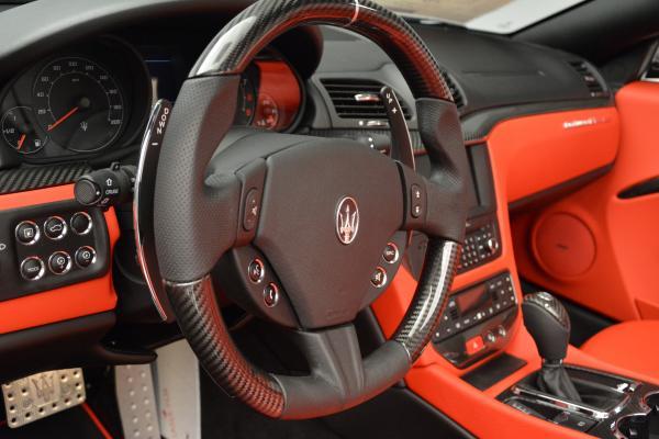 New 2016 Maserati GranTurismo Convertible MC for sale Sold at Bugatti of Greenwich in Greenwich CT 06830 24