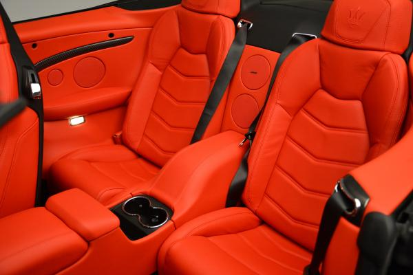 New 2016 Maserati GranTurismo Convertible MC for sale Sold at Bugatti of Greenwich in Greenwich CT 06830 25