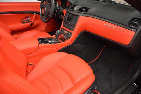 New 2016 Maserati GranTurismo Convertible MC for sale Sold at Bugatti of Greenwich in Greenwich CT 06830 26