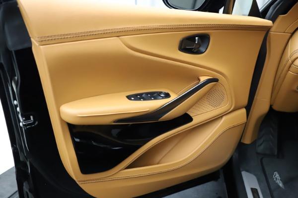New 2020 Aston Martin DBX SUV for sale Call for price at Bugatti of Greenwich in Greenwich CT 06830 16