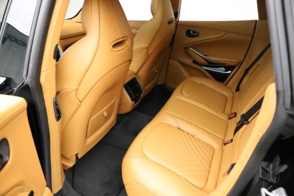 New 2020 Aston Martin DBX SUV for sale Call for price at Bugatti of Greenwich in Greenwich CT 06830 18