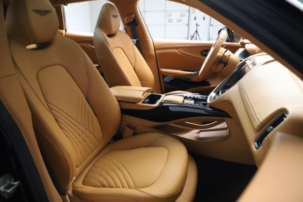 New 2020 Aston Martin DBX SUV for sale Call for price at Bugatti of Greenwich in Greenwich CT 06830 22
