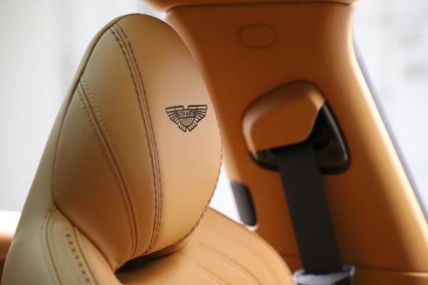 New 2020 Aston Martin DBX SUV for sale Call for price at Bugatti of Greenwich in Greenwich CT 06830 24