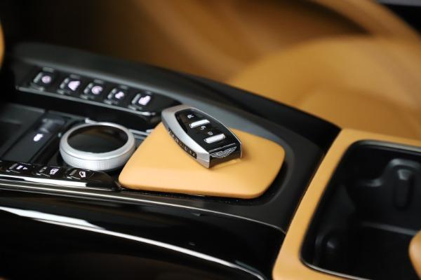 New 2020 Aston Martin DBX SUV for sale Call for price at Bugatti of Greenwich in Greenwich CT 06830 28