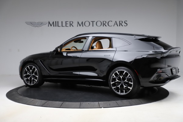 New 2021 Aston Martin DBX for sale Sold at Bugatti of Greenwich in Greenwich CT 06830 3
