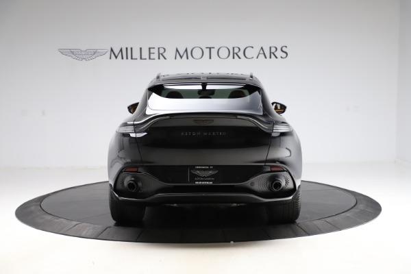New 2020 Aston Martin DBX SUV for sale Call for price at Bugatti of Greenwich in Greenwich CT 06830 5