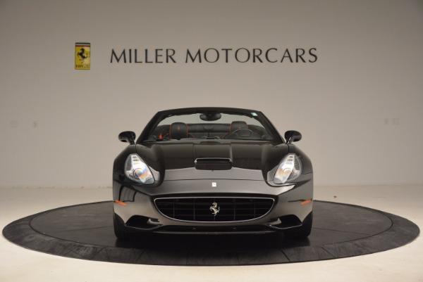 Used 2013 Ferrari California for sale Sold at Bugatti of Greenwich in Greenwich CT 06830 12