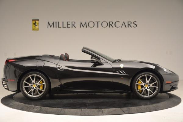 Used 2013 Ferrari California for sale Sold at Bugatti of Greenwich in Greenwich CT 06830 9