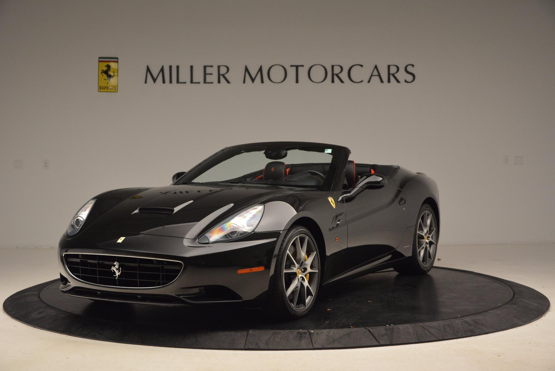 Used 2013 Ferrari California for sale Sold at Bugatti of Greenwich in Greenwich CT 06830 1