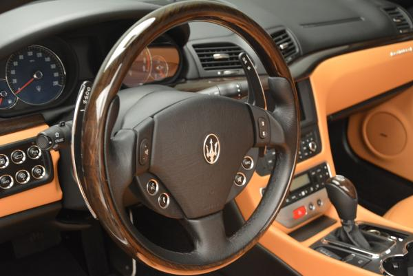 Used 2012 Maserati GranTurismo for sale Sold at Bugatti of Greenwich in Greenwich CT 06830 24