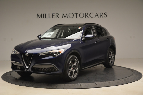 New 2018 Alfa Romeo Stelvio Sport Q4 for sale Sold at Bugatti of Greenwich in Greenwich CT 06830 1