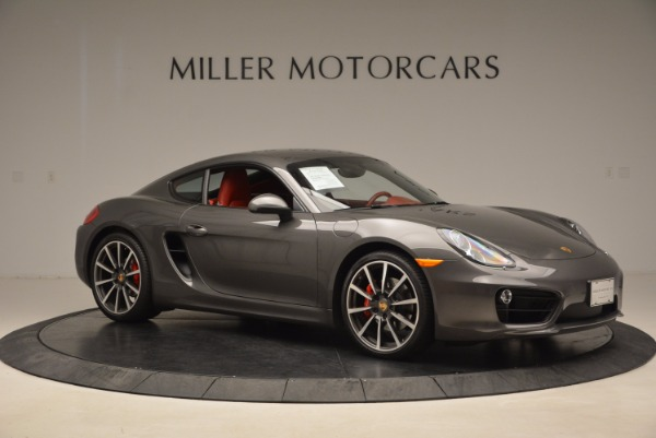 Used 2014 Porsche Cayman S S for sale Sold at Bugatti of Greenwich in Greenwich CT 06830 10