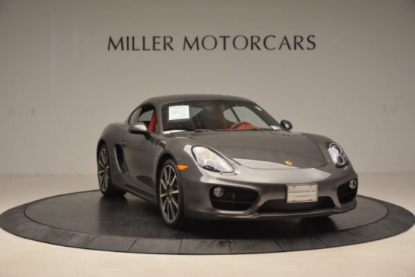 Used 2014 Porsche Cayman S S for sale Sold at Bugatti of Greenwich in Greenwich CT 06830 11