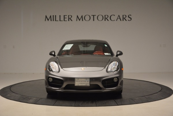 Used 2014 Porsche Cayman S S for sale Sold at Bugatti of Greenwich in Greenwich CT 06830 12