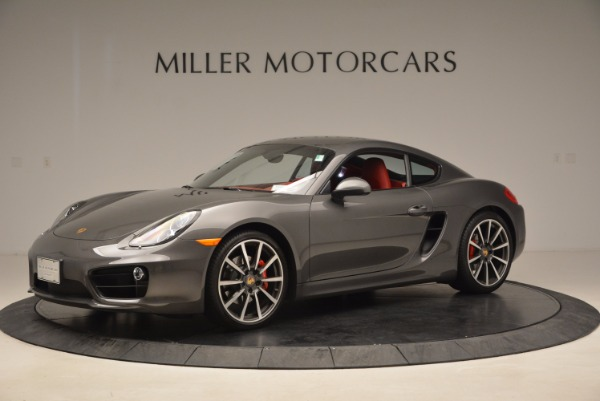 Used 2014 Porsche Cayman S S for sale Sold at Bugatti of Greenwich in Greenwich CT 06830 2