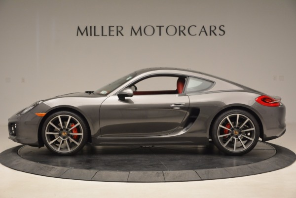 Used 2014 Porsche Cayman S S for sale Sold at Bugatti of Greenwich in Greenwich CT 06830 3
