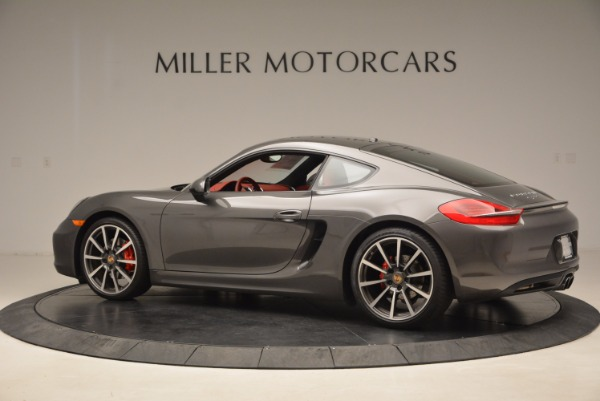 Used 2014 Porsche Cayman S S for sale Sold at Bugatti of Greenwich in Greenwich CT 06830 4