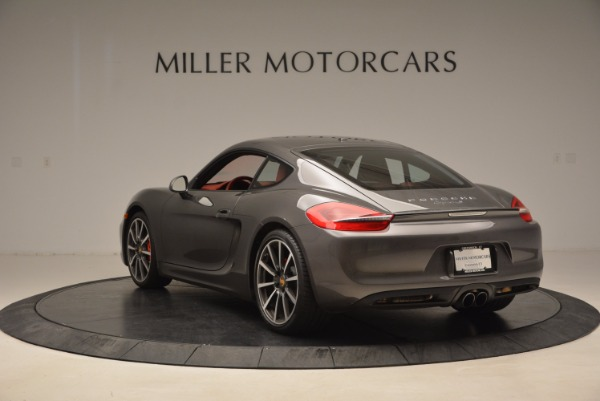 Used 2014 Porsche Cayman S S for sale Sold at Bugatti of Greenwich in Greenwich CT 06830 5