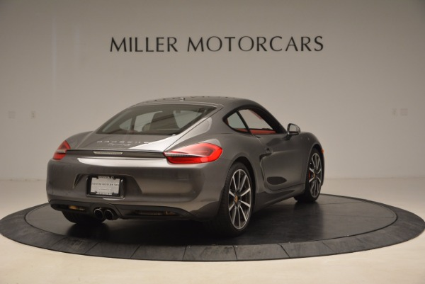 Used 2014 Porsche Cayman S S for sale Sold at Bugatti of Greenwich in Greenwich CT 06830 7