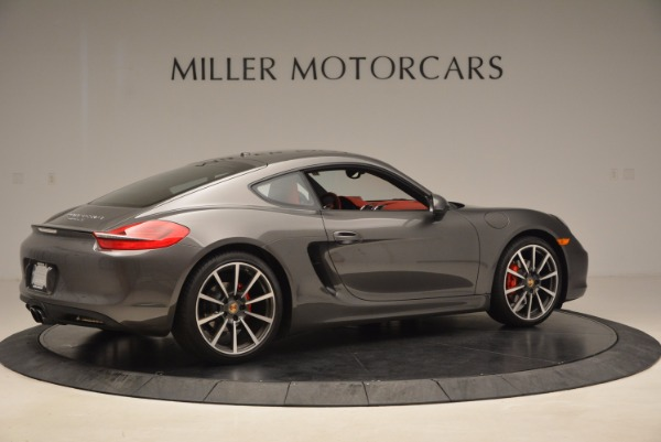 Used 2014 Porsche Cayman S S for sale Sold at Bugatti of Greenwich in Greenwich CT 06830 8